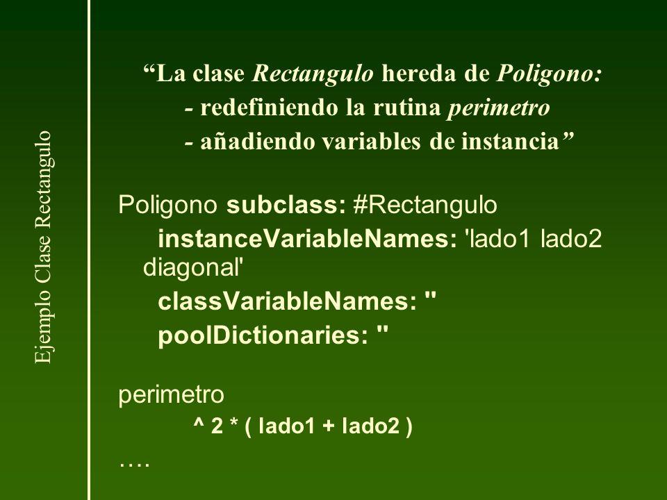 Ejemplo Clase Rectangulo