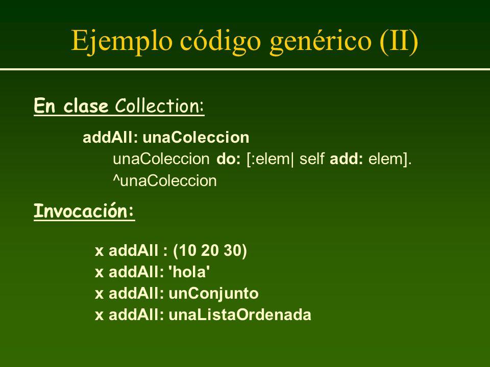 Ejemplo código genérico (II)