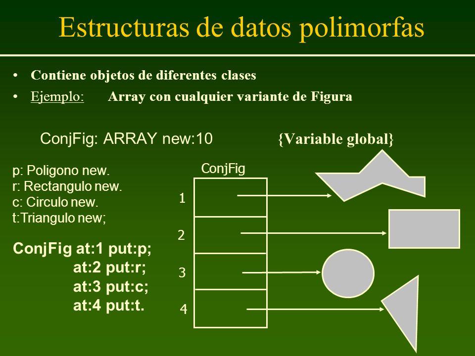 Estructuras de datos polimorfas