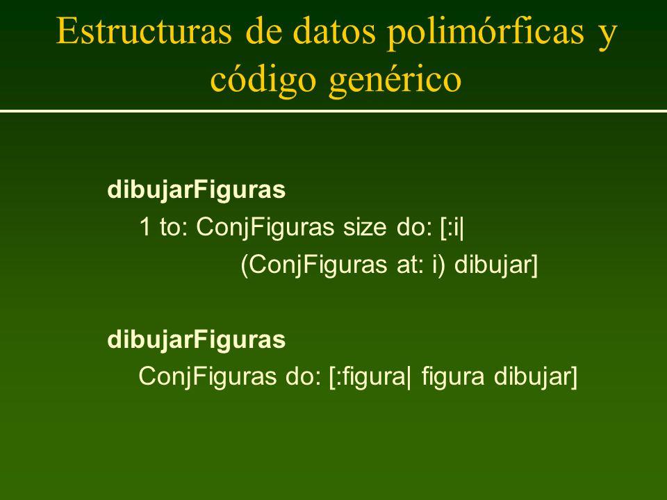 Estructuras de datos polimórficas y código genérico