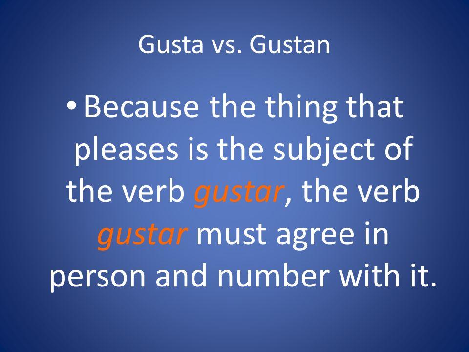 Gusta vs.