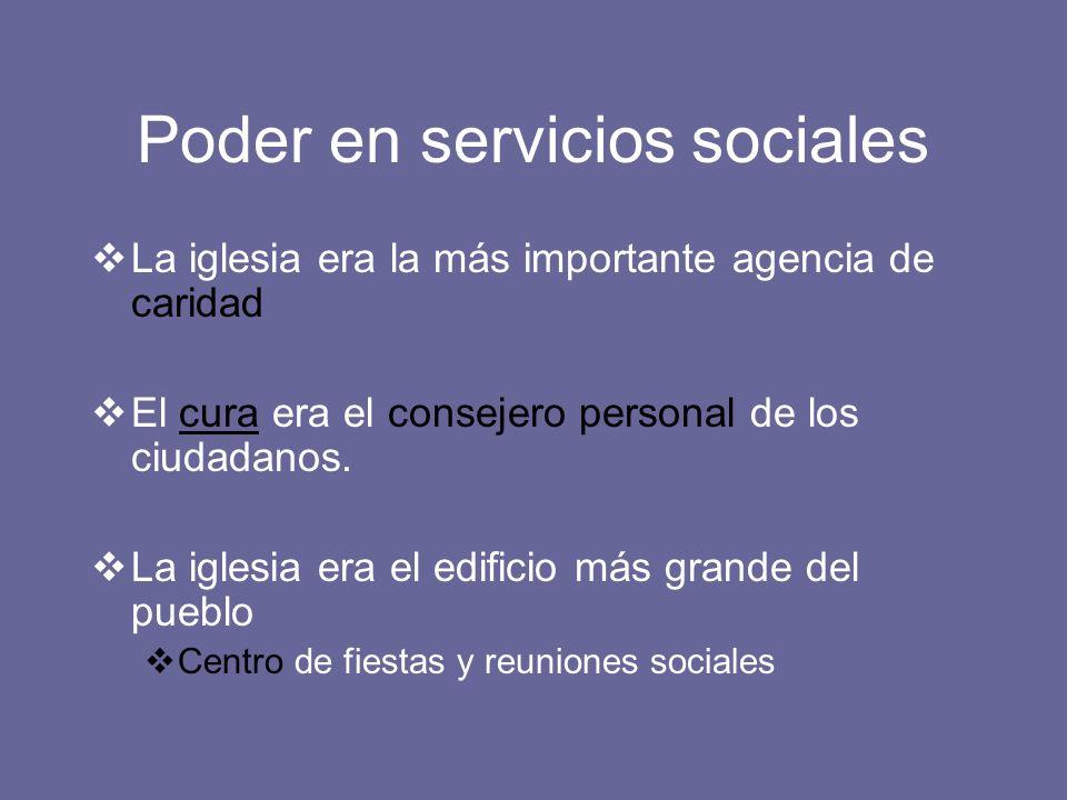 Poder en servicios sociales