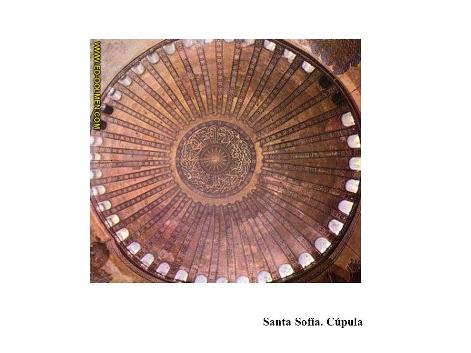Santa Sofía. Cúpula