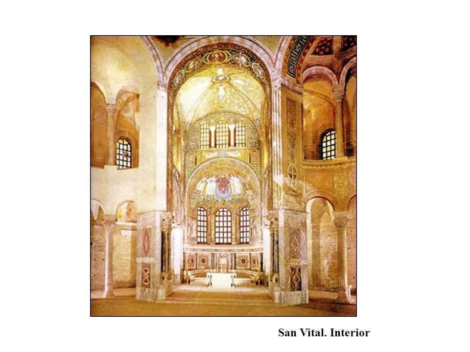San Vital. Interior
