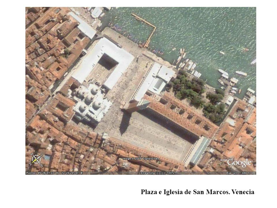 Plaza e Iglesia de San Marcos. Venecia