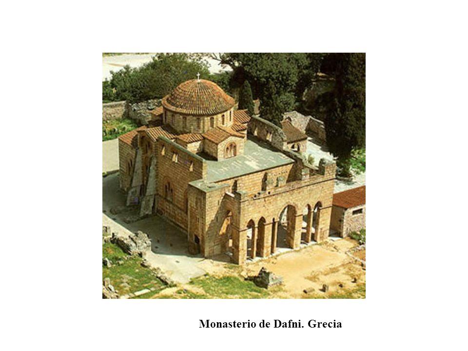 Monasterio de Dafni. Grecia
