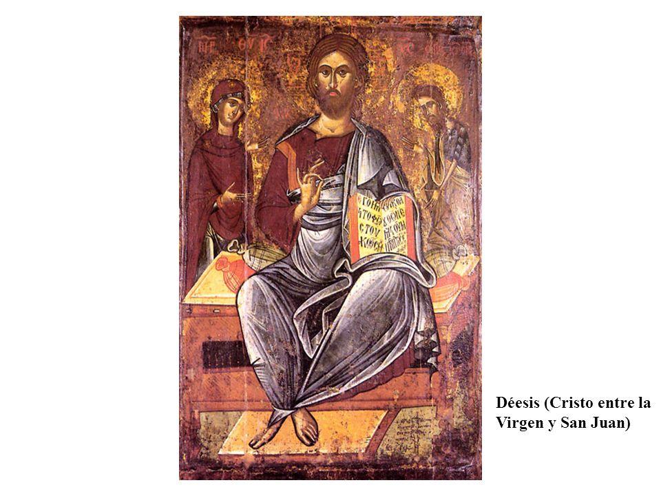 Déesis (Cristo entre la