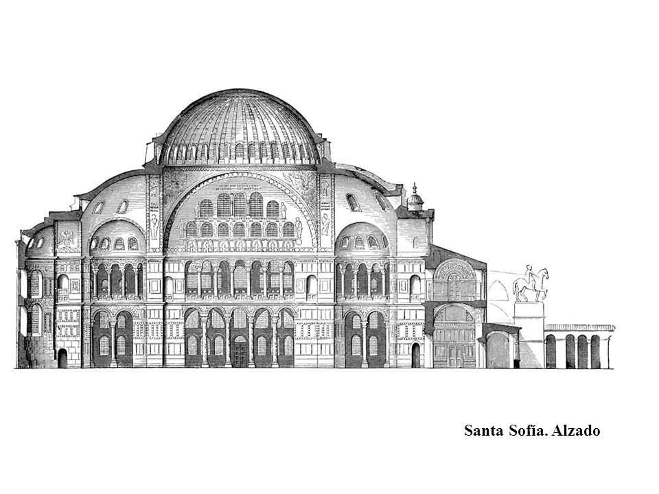 Santa Sofía. Alzado