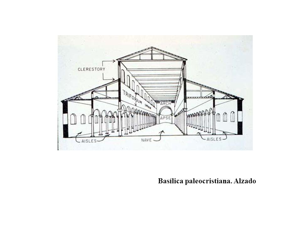 Basílica paleocristiana. Alzado