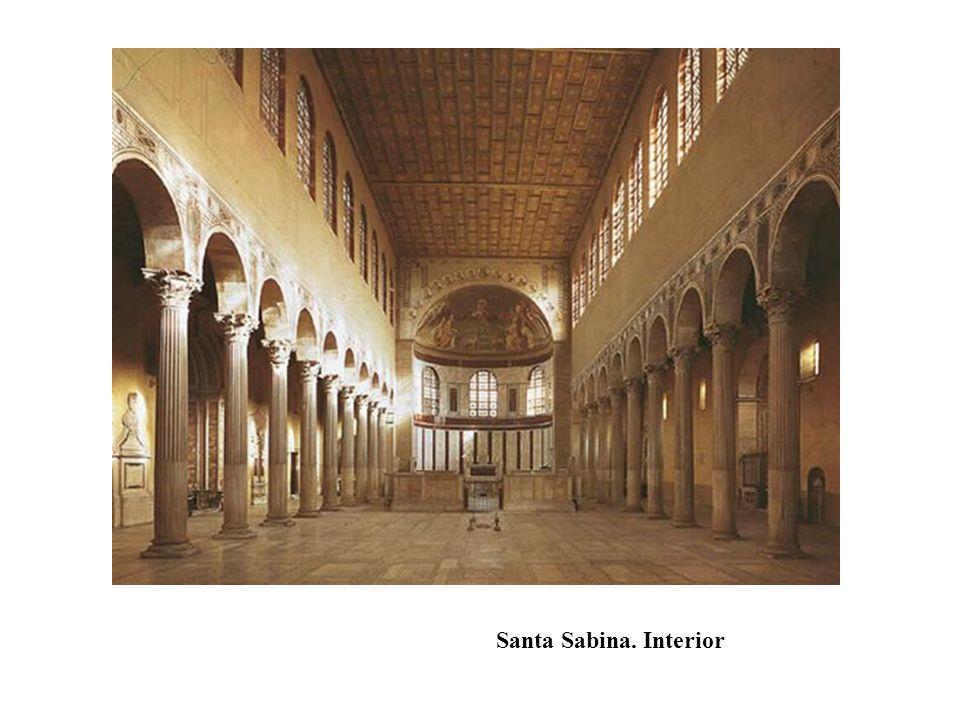 Santa Sabina. Interior