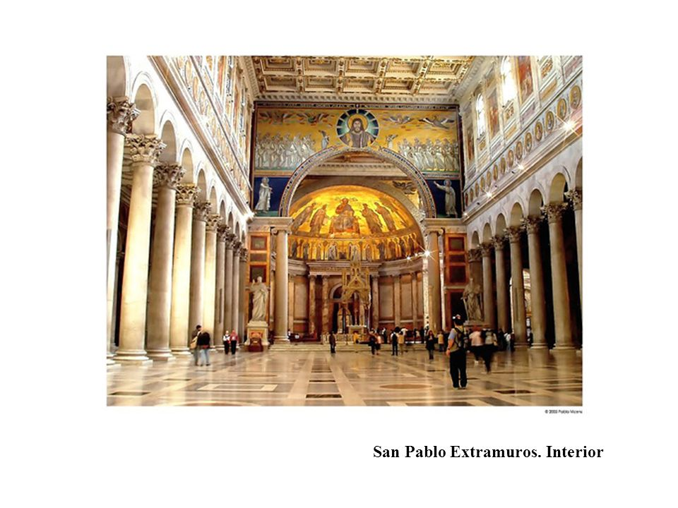 San Pablo Extramuros. Interior