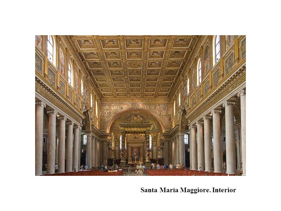 Santa María Maggiore. Interior