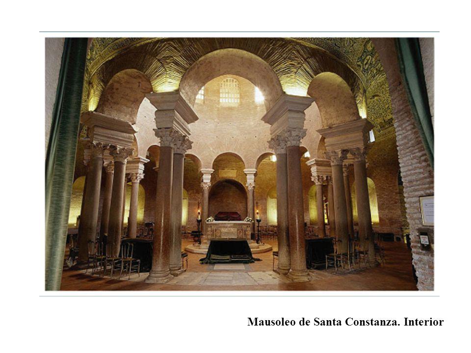Mausoleo de Santa Constanza. Interior