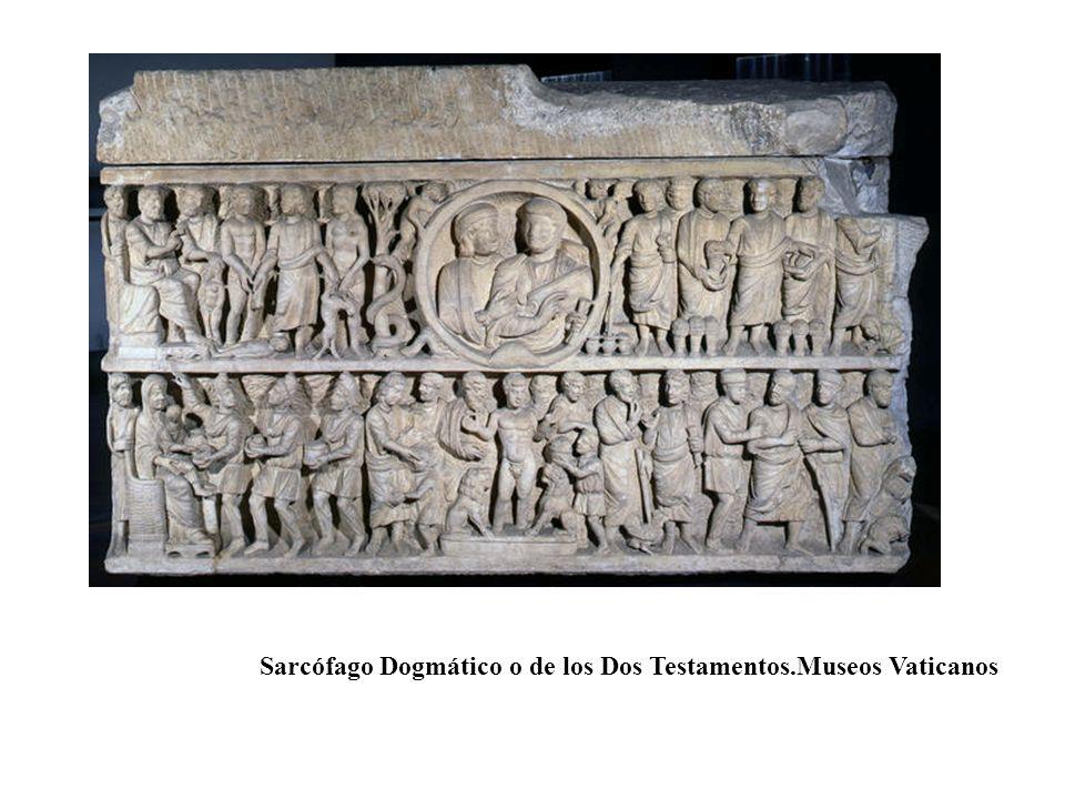 Sarcófago Dogmático o de los Dos Testamentos.Museos Vaticanos
