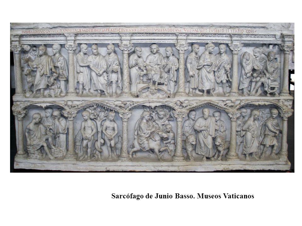 Sarcófago de Junio Basso. Museos Vaticanos