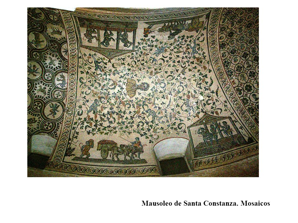 Mausoleo de Santa Constanza. Mosaicos