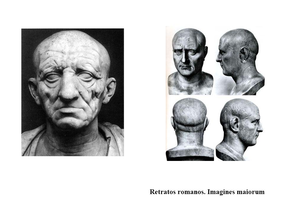 Retratos romanos. Imagines maiorum