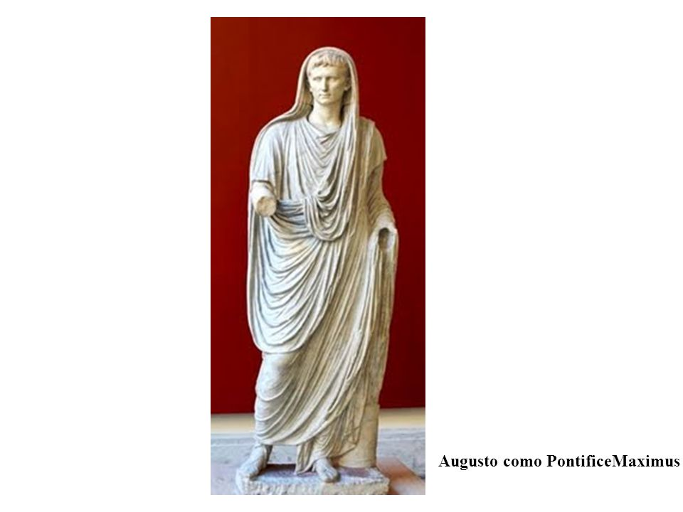 Augusto como PontificeMaximus