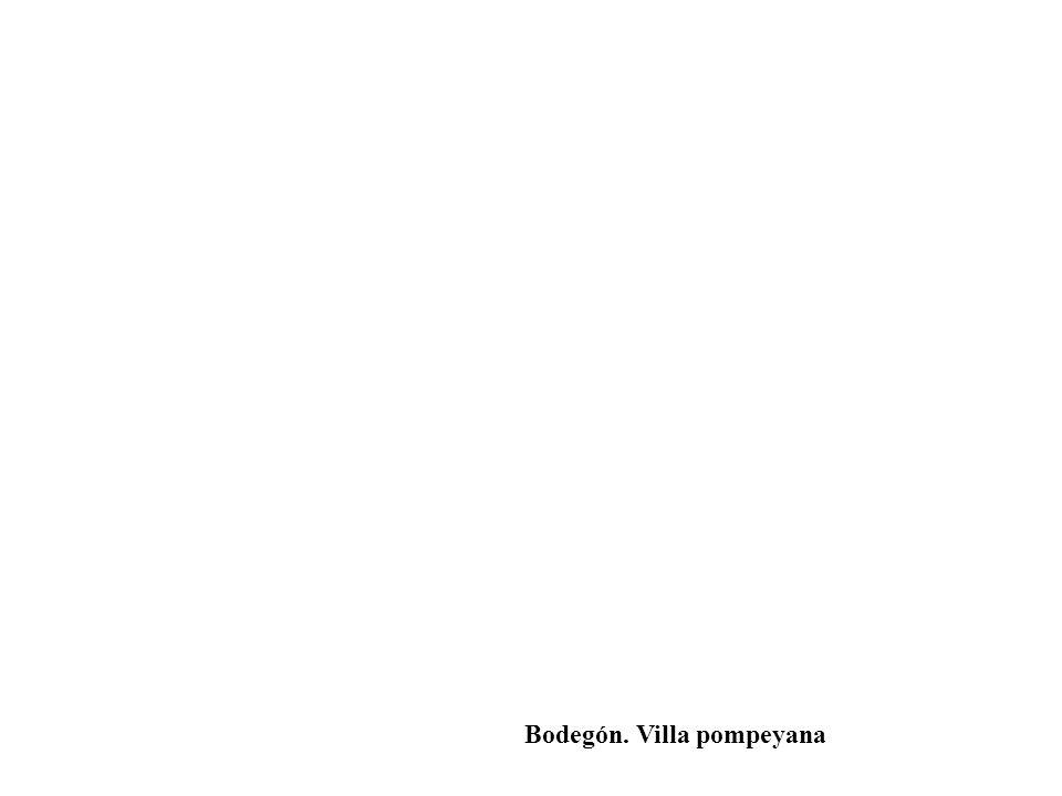 Bodegón. Villa pompeyana