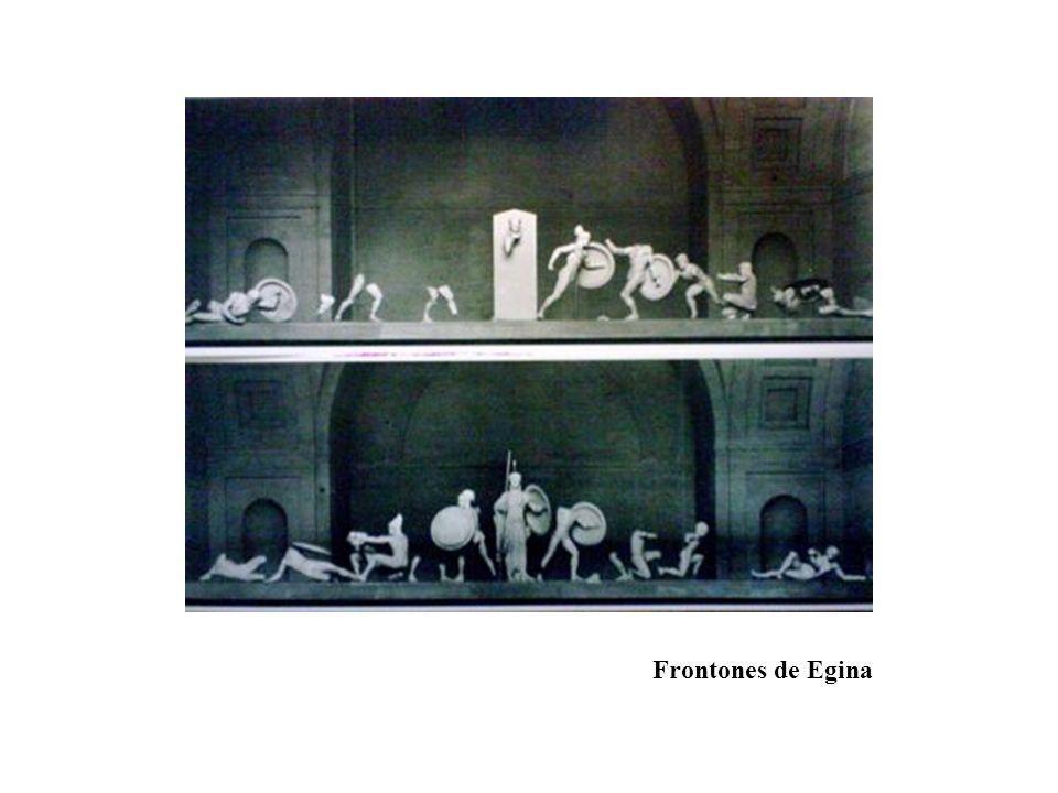 Frontones de Egina