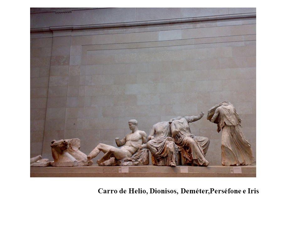 Carro de Helio, Dionisos, Deméter,Perséfone e Iris