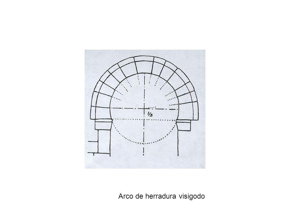 Arco de herradura visigodo