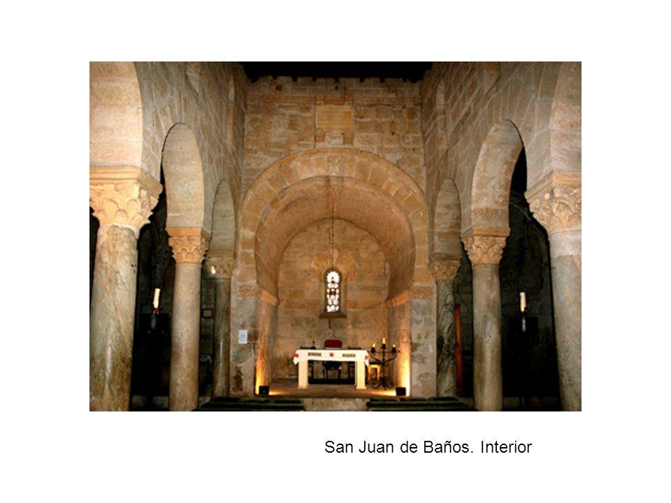 San Juan de Baños. Interior