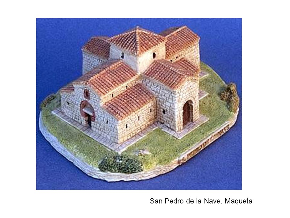 San Pedro de la Nave. Maqueta