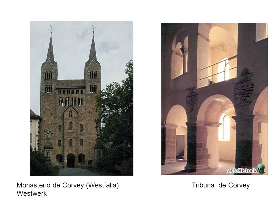 Monasterio de Corvey (Westfalia) Tribuna de Corvey