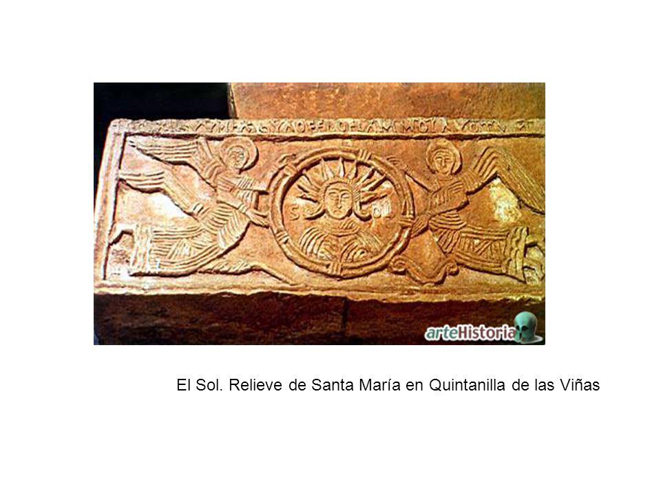 El Sol. Relieve de Santa María en Quintanilla de las Viñas