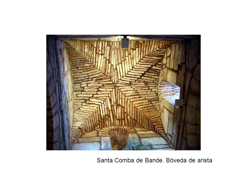 Santa Comba de Bande. Bóveda de arista
