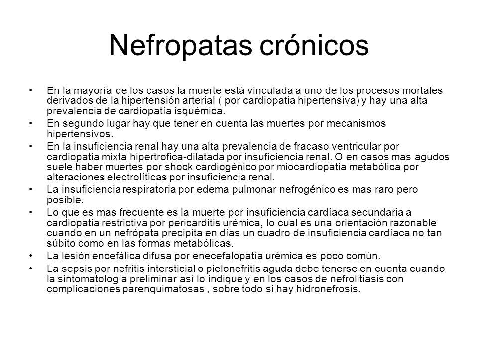 Nefropatas crónicos