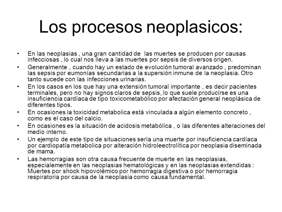 Los procesos neoplasicos: