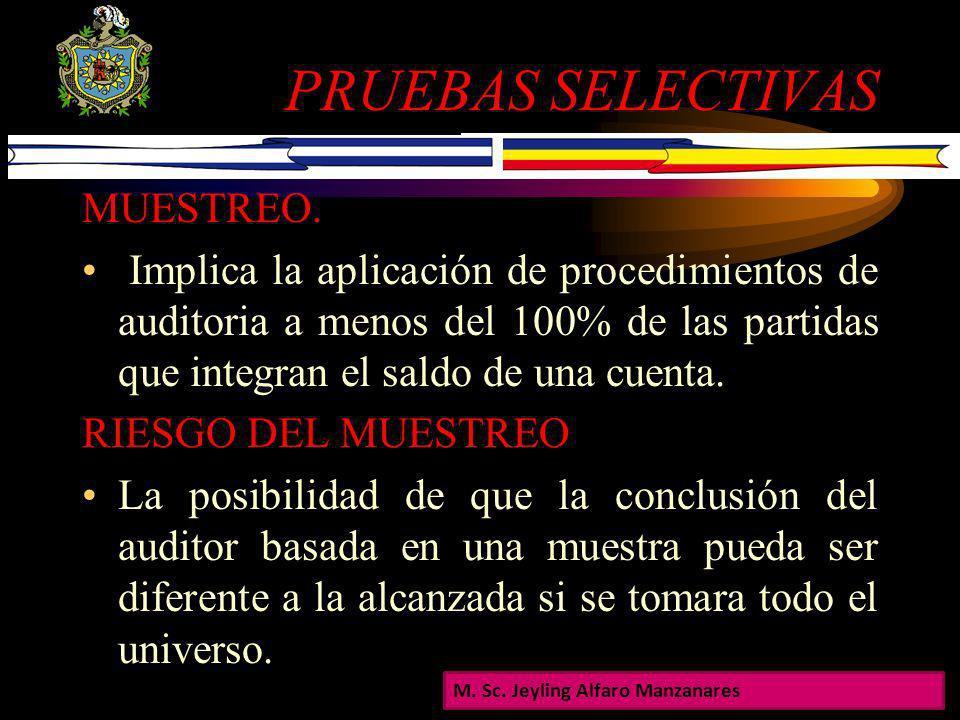 PRUEBAS SELECTIVAS MUESTREO.
