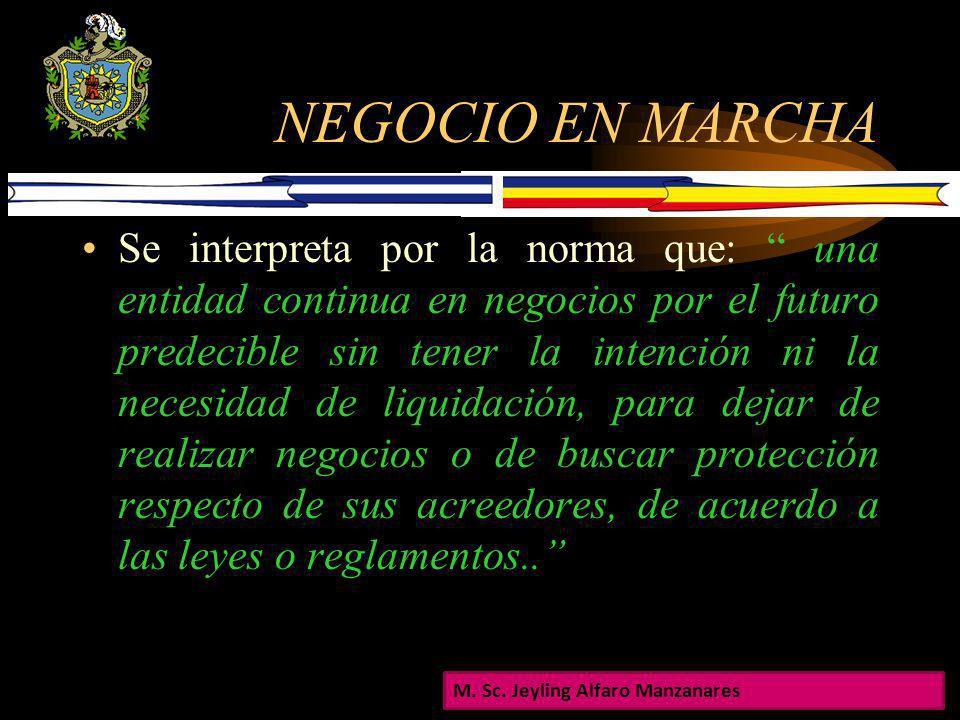 NEGOCIO EN MARCHA