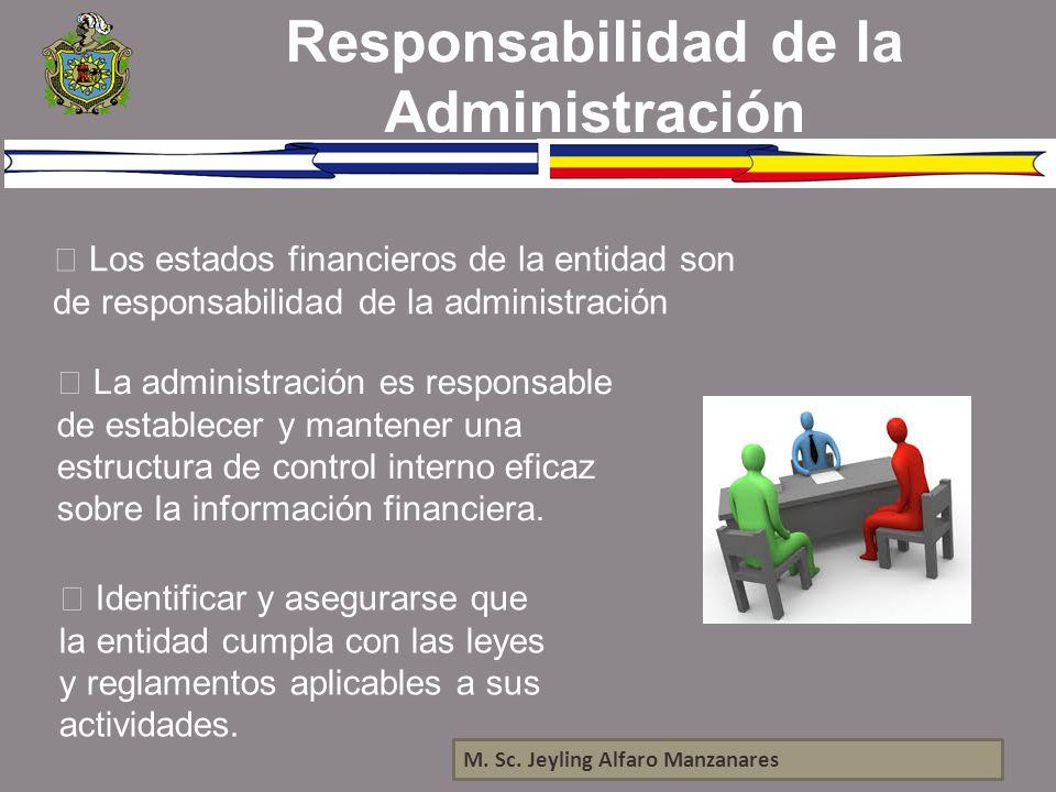 Responsabilidad de la Administración