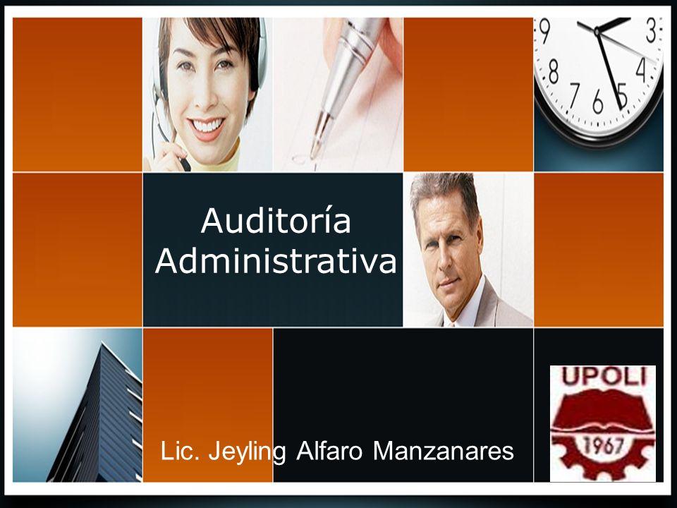 Auditoría Administrativa