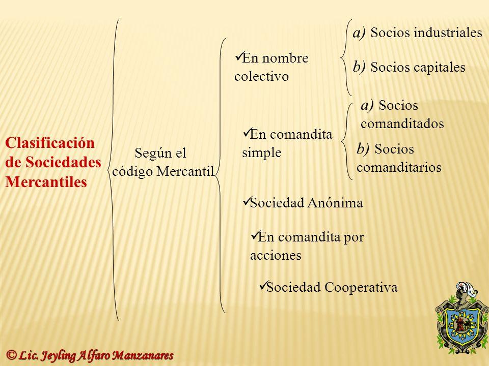 a) Socios industriales
