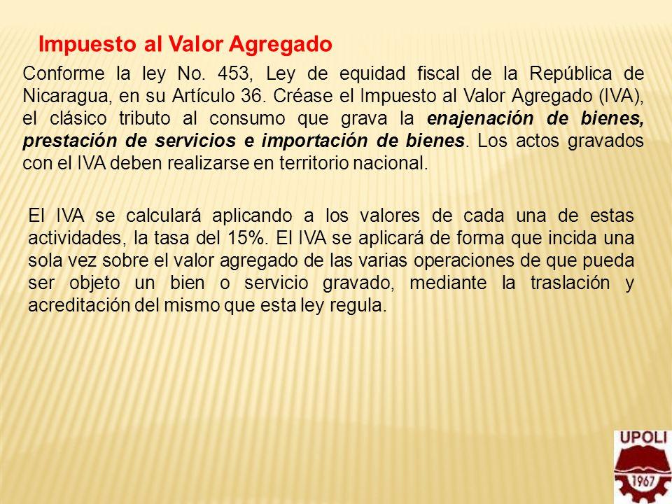 Impuesto al Valor Agregado