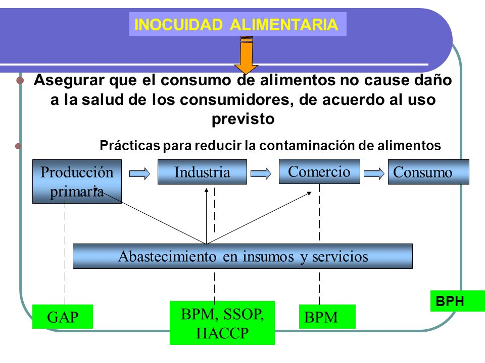 Abastecimiento en insumos y servicios