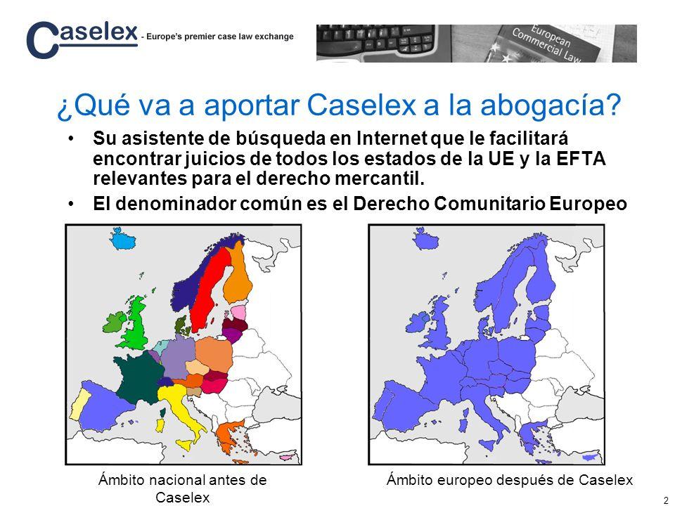 ¿Qué va a aportar Caselex a la abogacía