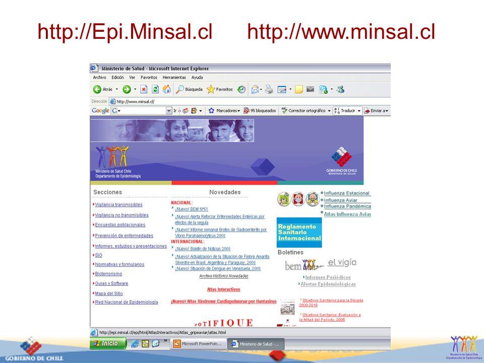 http://Epi.Minsal.cl http://www.minsal.cl