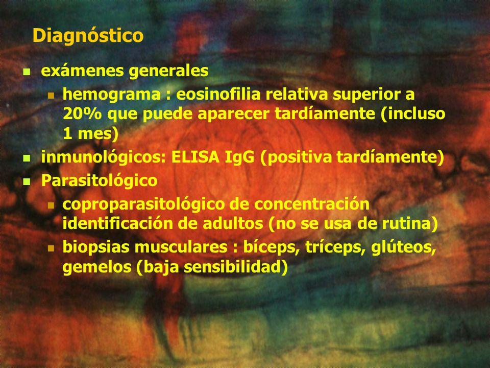 Diagnóstico exámenes generales