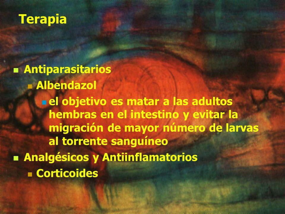 Terapia Antiparasitarios Albendazol