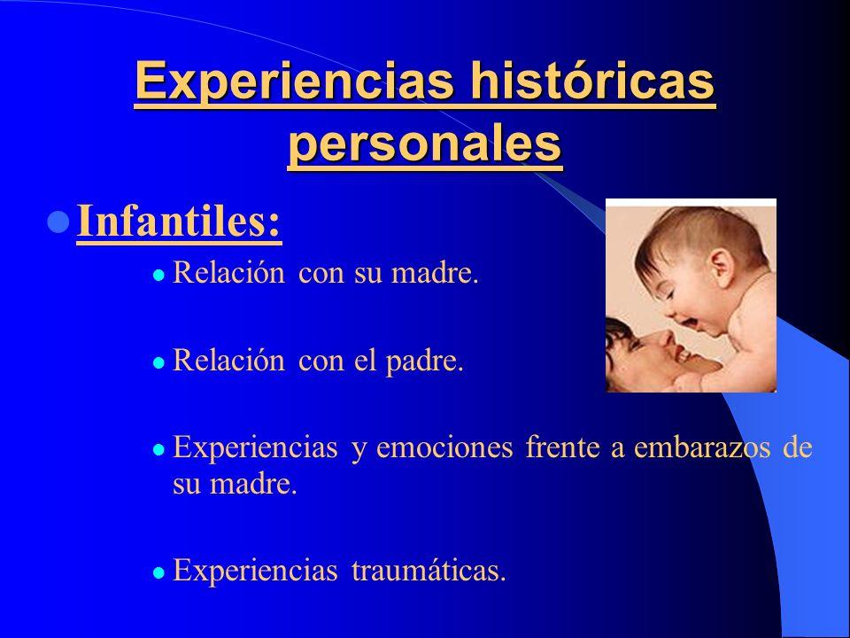 Experiencias históricas personales