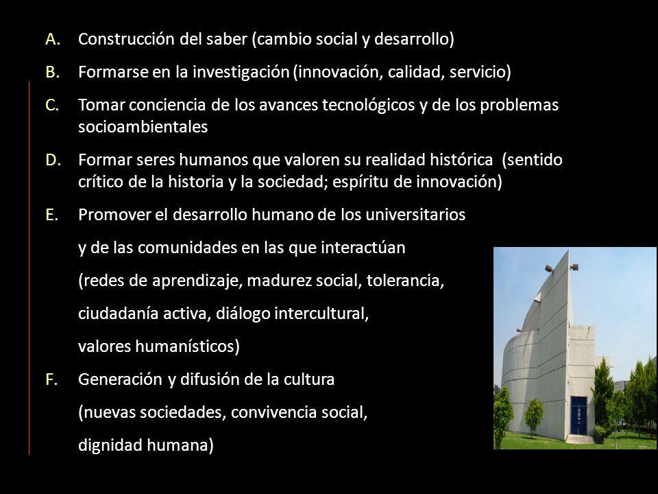 Construcción del saber (cambio social y desarrollo)