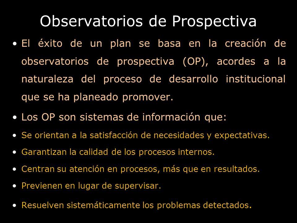 Observatorios de Prospectiva