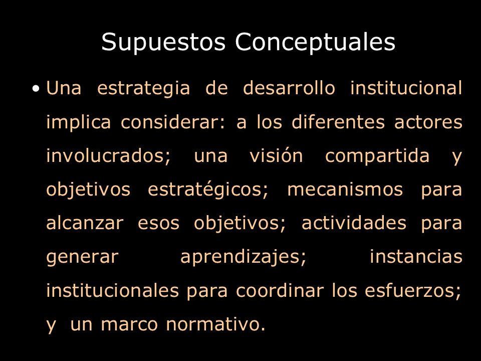 Supuestos Conceptuales