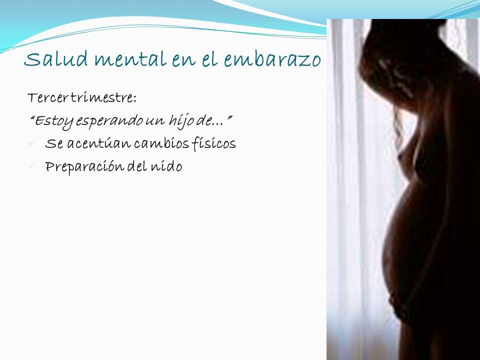 Salud mental en el embarazo