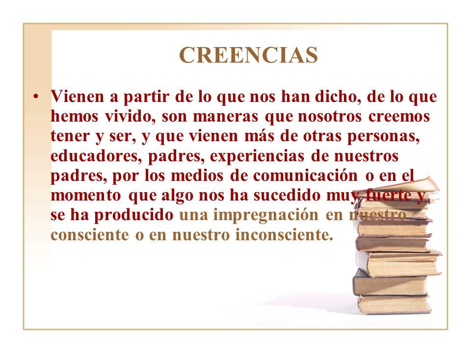 CREENCIAS